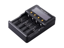 Fenix Flashlight ARE-C2+ Four-Channel Smart Charger for Li-Ion, NiMH, and Ni-Cd Batteries