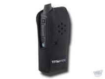 Titan Radio TR4NC3 Vertical Nylon Case with Belt Clip for TR400