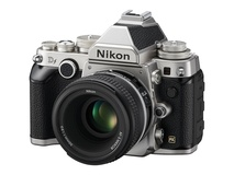 Nikon Df DSLR Camera with 50mm f/1.8 Lens (Silver)
