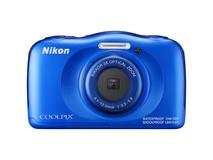 Nikon COOLPIX W100 Digital Camera (Blue)