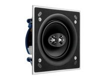 "KEF Ci160CSDS KEF Ultra Thin Bezel 6.5"" Dual Stereo Square In Ceiling Speaker"