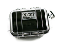 Pelican 1010 Micro Case (Black/Clear)
