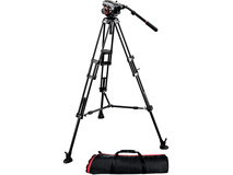 Manfrotto 504HD 546BK Aluminium Tripod Kit