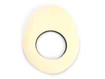 Bluestar Small Oval Eyecushion - Chamois