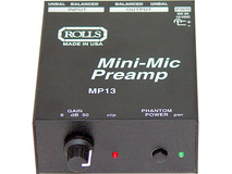 Rolls MP13 Mini Microphone Preamp
