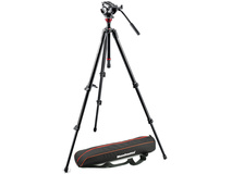 Manfrotto MVH500AH Fluid Head & 755XB Tripod with Carrying Bag
