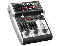 Behringer XENYX 302USB 5-Input Compact Mixer with USB