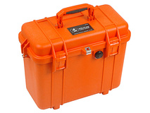 Pelican 1430 Top Loader Case without Foam (Orange)