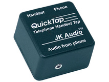 JK Audio QUICKTAP Telephone Handset Audio Interface