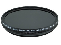 Marumi 58mm Variable Neutral Density ND2 - ND400 DHG filter