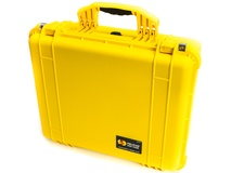 Pelican 1550 Case without Foam (Yellow)