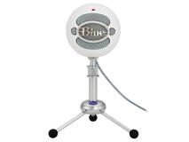 Blue Snowball USB Condenser Microphone (White)