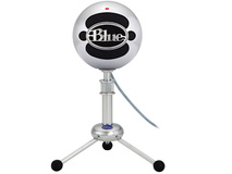 Blue Snowball USB Condenser Microphone (Brushed Aluminium)
