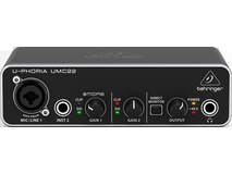 Behringer UMC 22 U-Phoria 2x2 USB Audio Interface