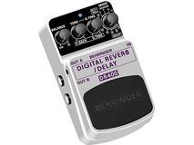 Behringer Digital Reverb-Delay DR400 Effects Pedal