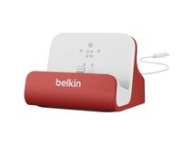 Belkin Mixit ChargeSync Dock - Red and 1.2m Cable