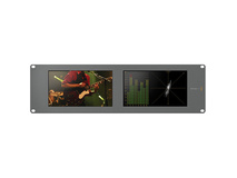 Blackmagic Design Smartscope Duo 4K Rack Mounted Dual 6G-SDI Monitors
