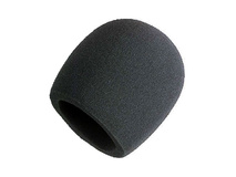 Shure A58WS-BLK - Black Windscreen for Ball Type Microphones