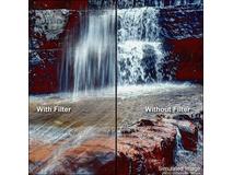 """Tiffen 4 x 5.65"""" Hot Mirror IRND 1.2 Filter"""