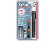 Maglite Mini Maglite 2-Cell AA Flashlight (Black)