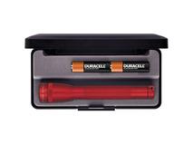 Maglite Mini Maglite 2-Cell AA Flashlight with Presentation Box (Red)