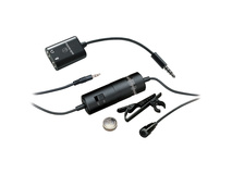 Audio Technica ATR3350IS Omnidirectional Condenser Lavalier Microphone