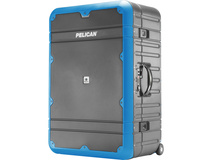 Pelican EL30 Elite Vacationer Luggage with Enhanced Travel System (Grey and Blue)