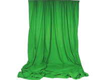 Impact Chroma Sheet Background - 3 x 3.7m (Chroma Green)