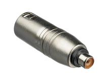 Hosa GXM-133 RCA to XLR Adapter