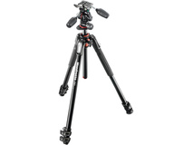 Manfrotto MK190XPRO3-3W Aluminium Tripod with 3-Way Pan/Tilt Head
