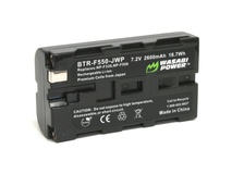Wasabi Power Sony NP-F550 type battery ( 2600mAh )