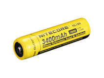 NITECORE NL189 -18650 Li-Ion Rechargeable Battery (3.7V, 3400mAh)