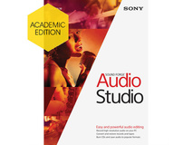 MAGIX Entertainment Sound Forge Audio Studio 10 - Academic (Download)