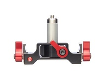 "Zacuto 1/4 20"" Lens Support w/ 1"" center rod"