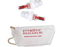 Etymotic Research ETYPlugs High-Fidelity Earplugs (Large, Red)