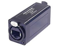 Neutrik NE8FF etherCON RJ45 Feed-Through Coupler for Cable Extensions