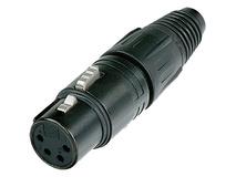 Neutrik NC4FX-B 4-Pin XLR Female Connector