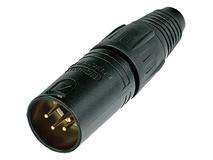 Neutrik NC4MX-B 4-Pin XLR Male Connector