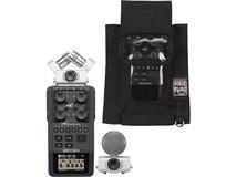 Zoom H6 Handy - Handheld Recorder kit with Porta Brace AR-ZH6 case