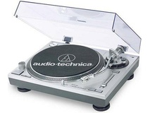 Audio Technica ATLP120 USB Turntable (Silver)