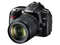 Nikon D90 Kit Includes AFS VR 18-105mm Lens and Lexar SD4GB-1030 Card