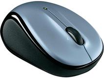 Logitech M325 Wireless Mouse (Light Silver)