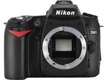 Nikon D90 Body and Lexar SD4GB 1030 Card