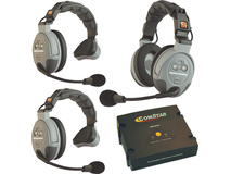 Eartec COMSTAR XT-3 3-User Full Duplex Wireless Intercom System