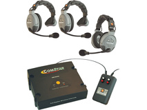 Eartec XT-Plus Com-Center with Interface and 3 COMSTAR Headsets