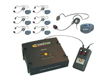 Eartec XT-Plus Com-Center with 7 COMPAK Headsets