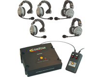 Eartec XT-Plus Com-Center with Interface and 5 COMSTAR Headsets