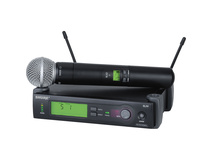 Shure SLX24-SM58 Handheld Wireless System with SM58 Microphone