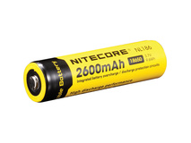 NITECORE NL186 - 18650 Li-Ion Rechargeable Battery (3.7V, 2600mAh)