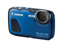 Canon PowerShot D30 Waterproof Digital Camera (Blue)